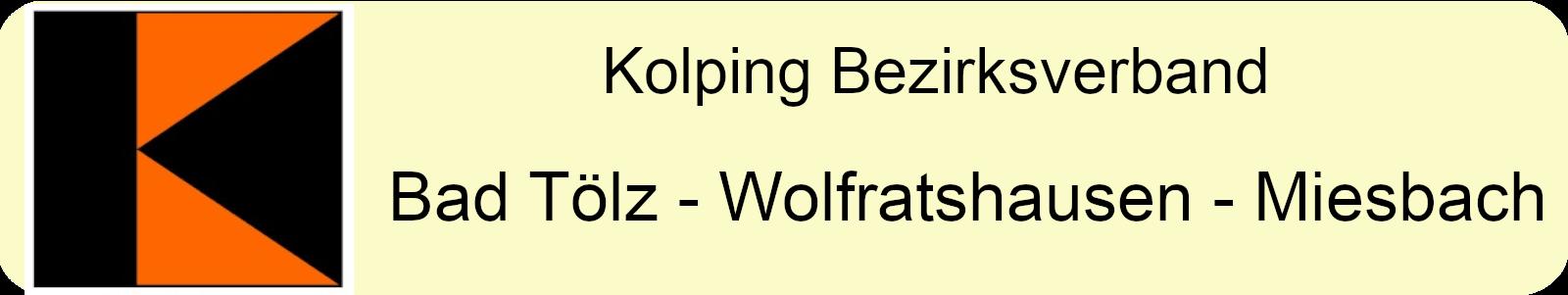 Kolping Bezirksverband Bad Tölz-Wolfratshausen-Miesbach